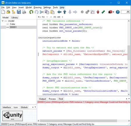 20-sim webhelp > Toolboxes > Unity Toolbox > License Unity